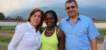 La atleta Valle Oro Puro, Flor Denis Ruiz clasificó a Juegos Olímpicos de Río 2016