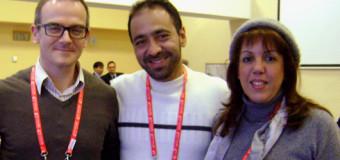 GERENTE DE INDERVALLE Y SECRETARIA DEL DEPORTE, PROMOCIONARON EL MUNDIAL DE CICLISMO EN MINSK, BIELORUSIA.