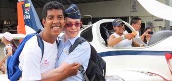 DEPORTISTAS EN SITUACION DE DISCAPCAIDAD ENTRENARON EN LA ESCUELA MILITAR DE AVIACION