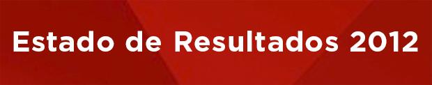 Banner Estado de Resultados 2012