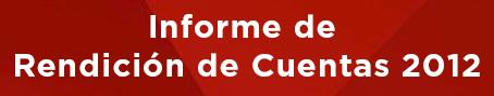 Benner Rendicion de Cuentas 2012