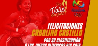 Carolina Castillo y Carlos Izquierdo clasifican a Juegos Olímpicos Río 2016