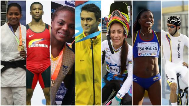 Tres de los siete candidatos al abanderado de Colombia rumbo a Juegos Olímpicos son vallecaucanos