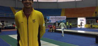 Esgrimista Valle Oro Puro John Rodriguez y su espada estarán en Río