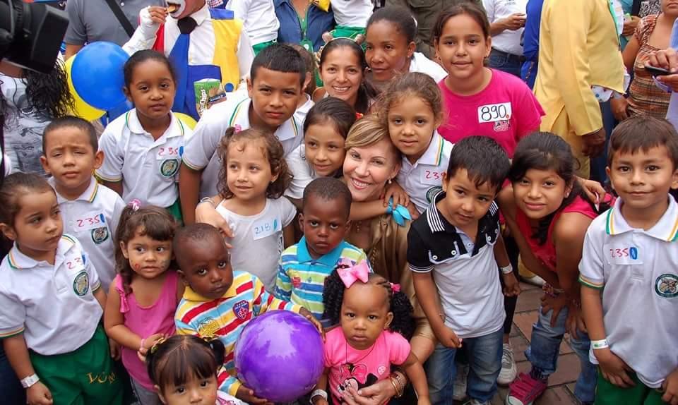 Celebración del mes de la niñez cierra en Jamundí y Andalucía con la gobernadora del Valle