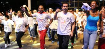 Una fiesta del deporte y la actividad física dio inicio al programa que convertirá al Valle en un gran gimnasio al aire libre