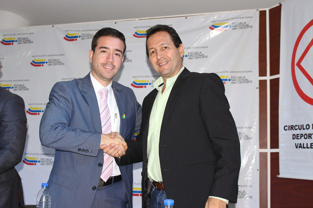 Indervalle y Secretaría de Deporte de Cali sellan alianza por los deportistas Valle Oro Puro