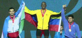 Vallecaucanos levantaron medallas en Mundial Juvenil