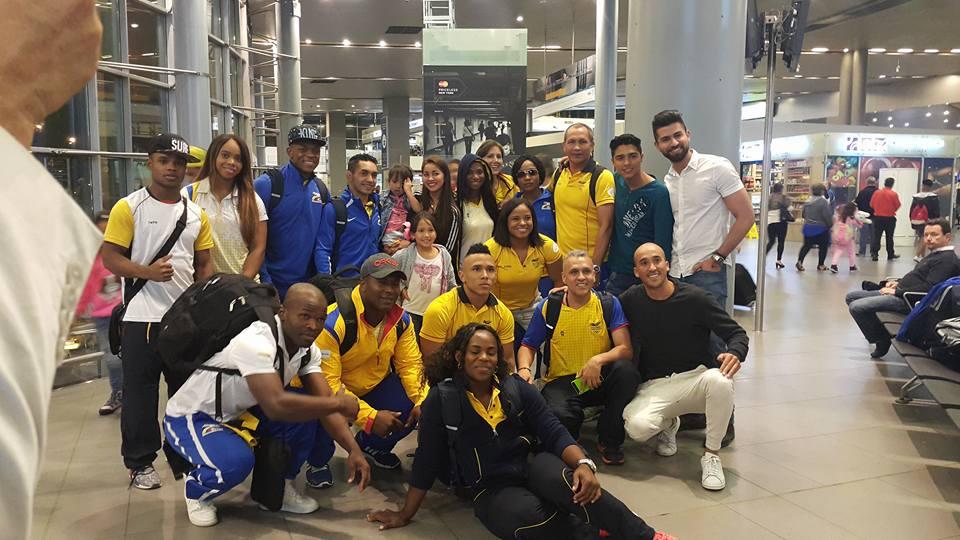 En suelo carioca Selección Colombia de levantamiento de pesas