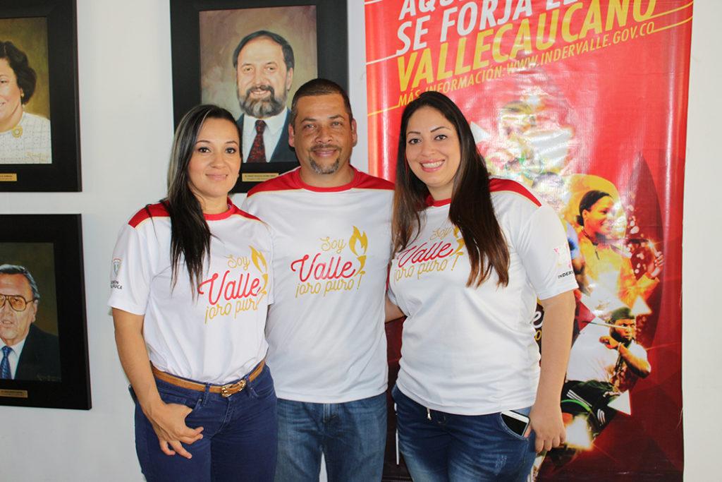 Profesionales del deporte cerca a los deportistas del Valle en Río