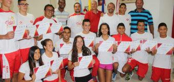 Deportistas destacados fueron reconocidos en Indervalle