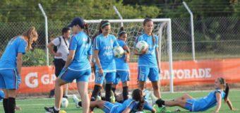 Selección Colombia Olímpica de fútbol femenino concentra en Cali