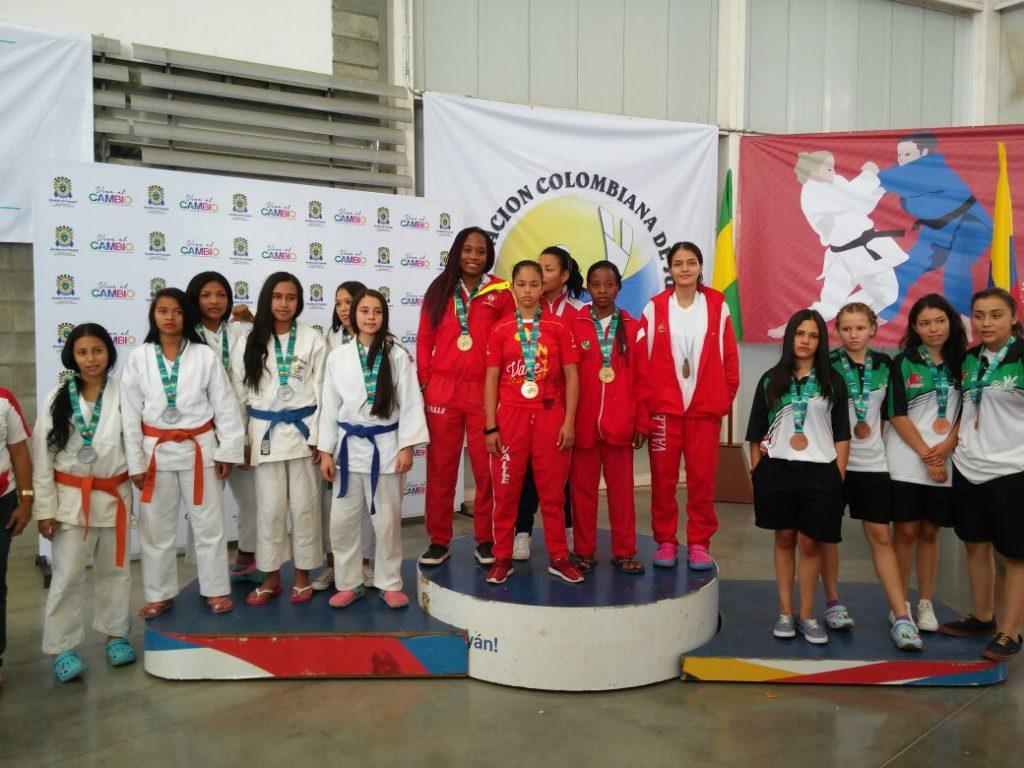 Combates de lujo dejaron al Valle del Cauca como Campeón Nacional de Judo