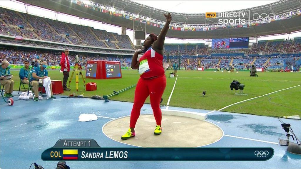 Sandra Lemos terminó su participación en Río 2016