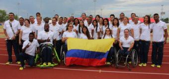 39 corazones colombianos van rumbo a los Juegos Paralímpicos