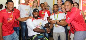 Deportistas convencionales entregaron la posta a los paralímpicos del Valle en Río