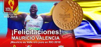 Mauricio Valencia es ORO Puro en Río 2016