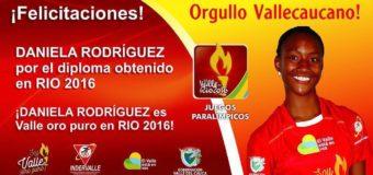 Primer diploma paralímpico para el Valle en Río