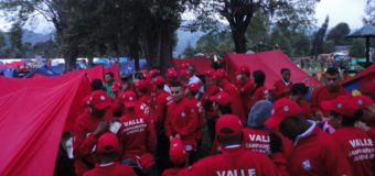Delegación Valle Oro Puro de campismo, protagonista en Manizales