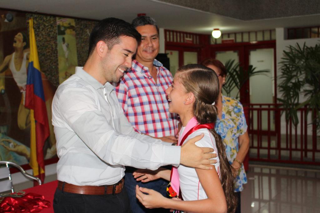 El judo y nado sincronizado se llevaron los aplausos en reconocimiento 'Valle Oro Puro'