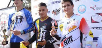 Leonardo Arango campeón latinoamericano de BMX