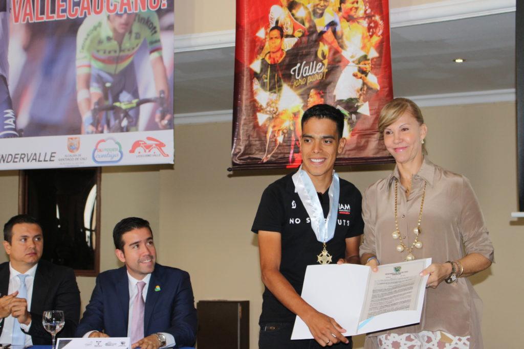 Asamblea del Valle rendirá homenaje al deportista 'Valle Oro Puro' Jarlinson Pantano
