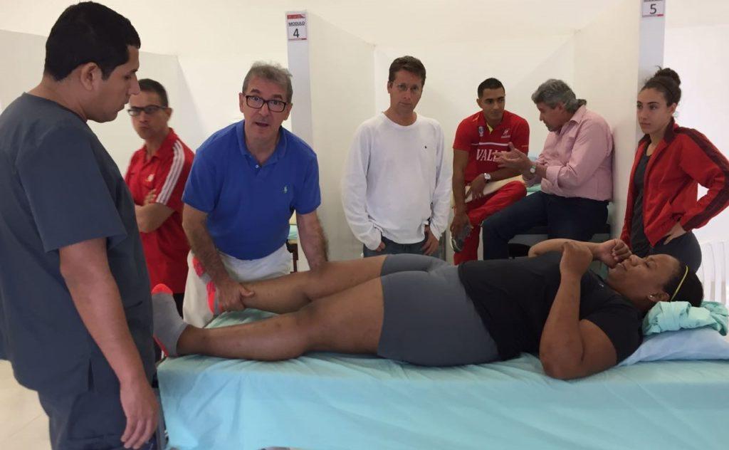 Centro de Servicios Biomédicos de Indervalle, una apuesta dorada para sus deportistas