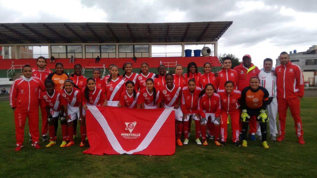 Primera victoria de la Selección Valle femenina de fútbol