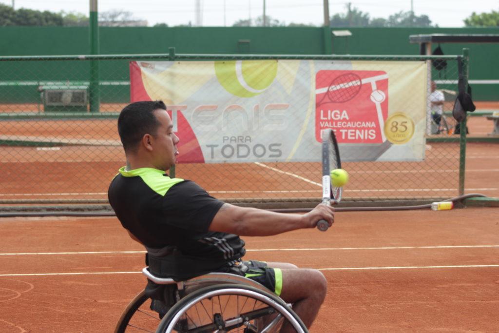 Con cuota vallecaucana, llegan las semifinales de la Copa Indervalle de Tenis en Silla de Ruedas