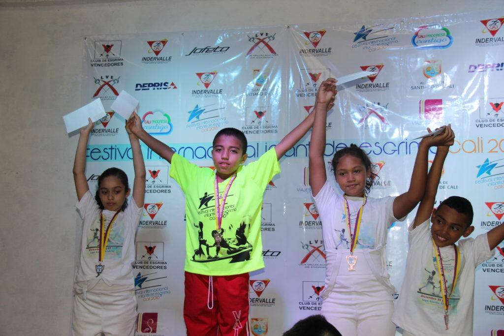 Inició Festival Internacional de Esgrima en Cali