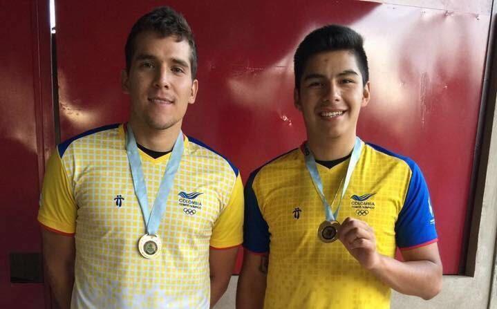 Vallecaucanos Sebastián Franco y Mario Mercado, figuras en el New Jersey Open de racquetball
