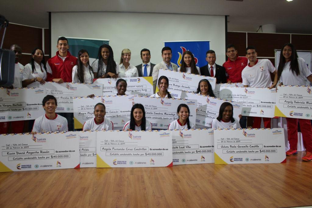 Coldeportes entregó incentivos a ganadores de Juegos Supérate en el Valle