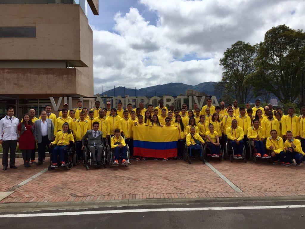 Juveniles vallecaucanos, abanderados rumbo a Parapanamericanos Sao Paulo 2017