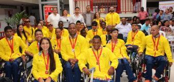 Delegación paralímpica del Valle, reconocida por su representación en Sao Paulo