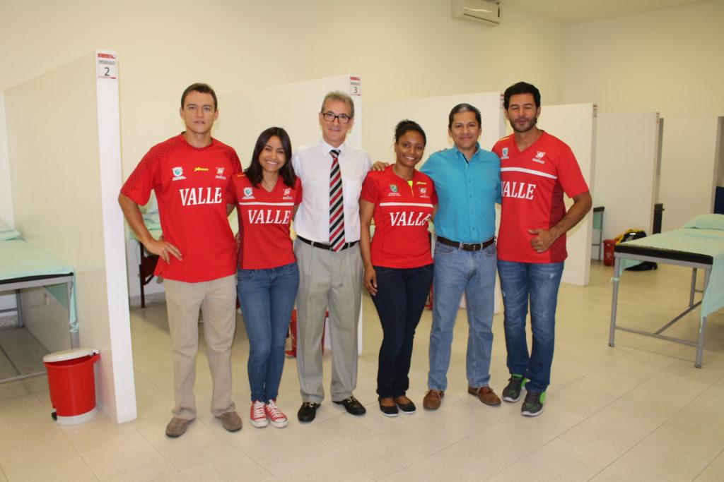 La medicina deportiva del Valle del Cauca, detrás del proceso de los atletas