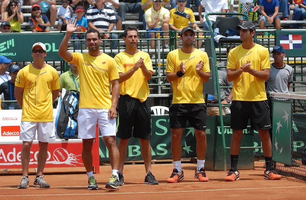 Tres vallecaucanos en el equipo Colombia de Copa Davis