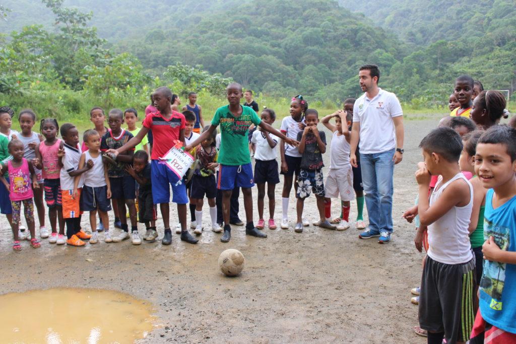 Inician los festivales recreativos de las Escuelas Deportivas para la Paz