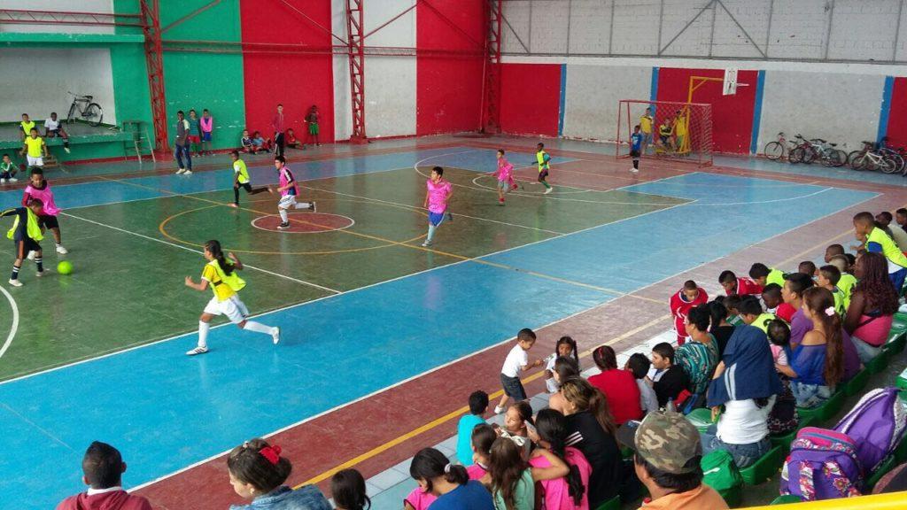 Con festivales, Escuelas Deportivas para la Paz fortalecen el deporte formativo en el Valle