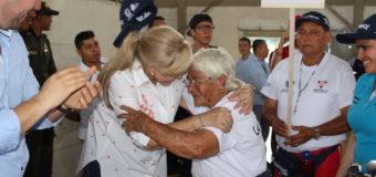 Los adultos mayores son Valle Oro Puro con sus Juegos Departamentales