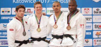 En Polonia, judoca Pedro Castro se colgó metal de bronce