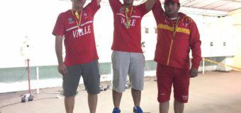 El tiro deportivo Valle Oro Puro, dominó la válida nacional de pistola