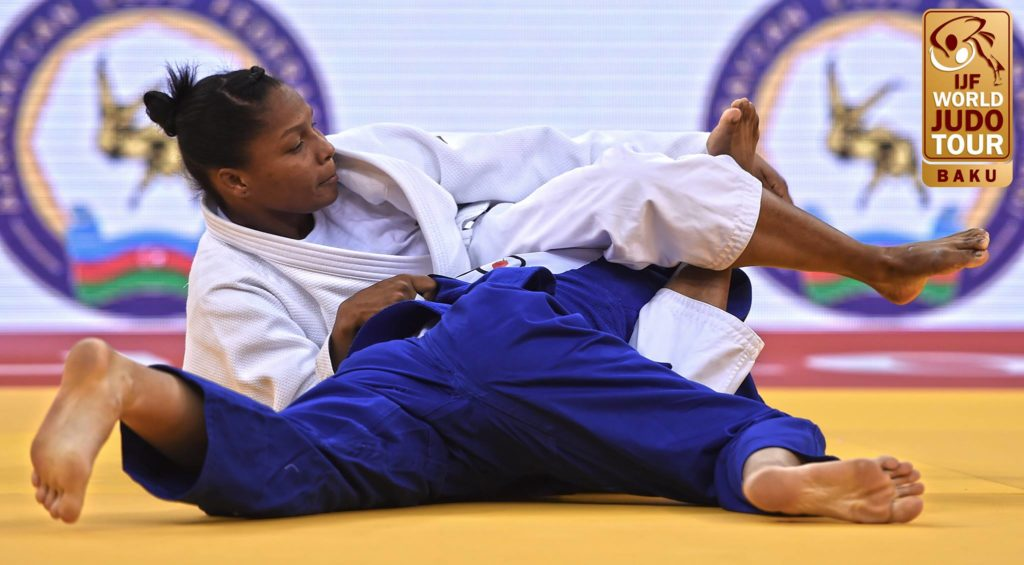 Vallecaucana Yuri Alvear se lleva el título del Grand Slam de judo en Bakú