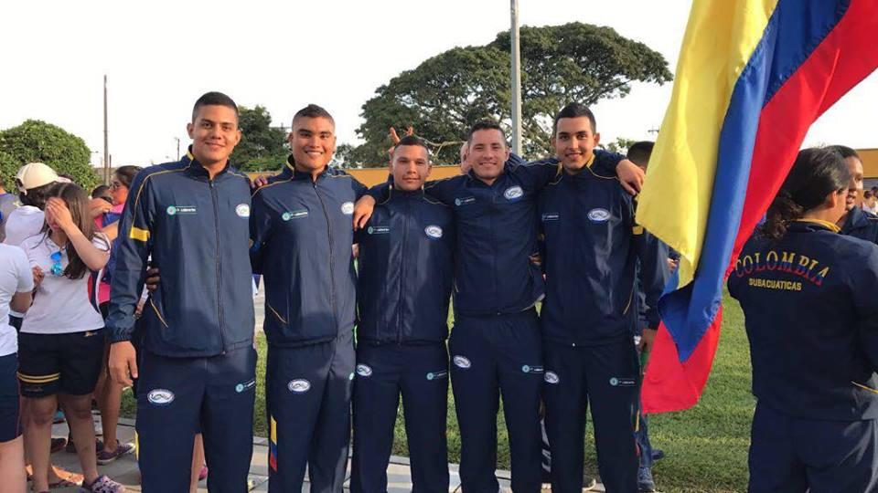 Vallecaucanos buscan título panamericano de natación con aletas