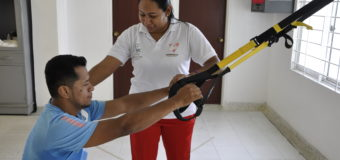 Diana Solís: terapias cargadas de amor puro por el deporte