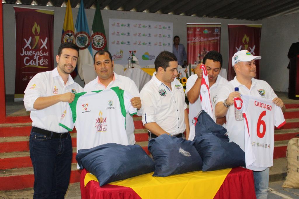 Alcalá le dio apertura a los Juegos del Café