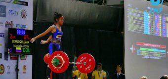 Vallecaucana Manuela Berrio, logra primeras medallas mundiales de pesas en Tailandia