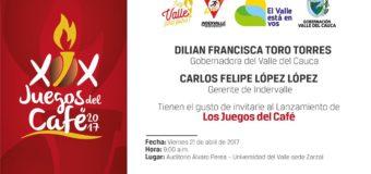 Tras ocho años, regresan los Juegos del Café al Valle del Cauca
