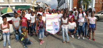 Indervalle participó del Día Internacional contra la Homofobia y Transfobia con los Semilleros Deportivos para la Paz