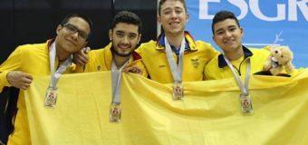 Con sus sables, pareja de vallecaucanos conquistaron medalla en  Puerto Rico