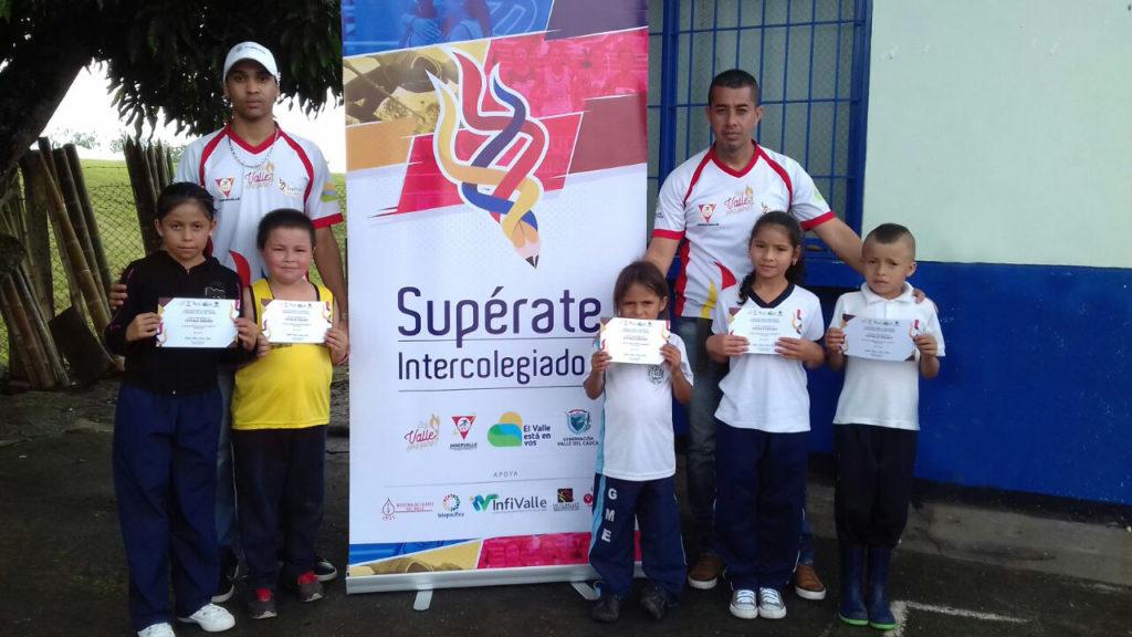 En el Valle se celebraron los Festivales Escolares de los Juegos Supérate